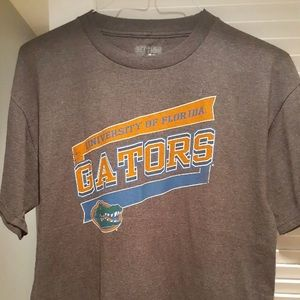 Florida Gators T-Shirt Gray Large U Florida